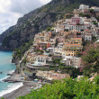 Positano at the Amalfi coast - Stock Photo