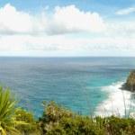 Panoramic view over Na Pali coast. — Stock Photo #1372249