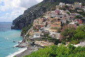 Positano at the Amalfi coast — Stock Photo