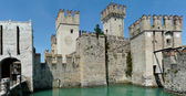 Scaligero Castle, Sirmione, Italy — Stock Photo