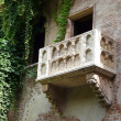 Famous Romeo and Juliet balcony — Photo