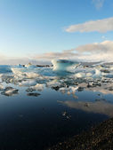 Jokulsarlon, glacier lagoon — Stock Photo