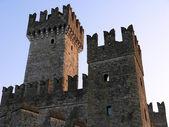 średniowieczny zamek — Zdjęcie stockowe