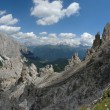 Dolomite landscape - Stock Photo