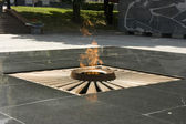 Monument eternal fire — Stock Photo