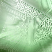 Electronic scheme — Stock Photo