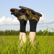 Stock Photo: In field