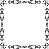 Gothic pattern — Stock Photo
