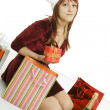 The girl with purchases — Stock Photo #1488895