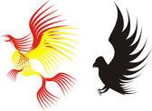 Eagle illustration — Stock Vector