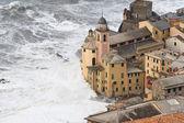 Storm in Camogli — Stock Photo
