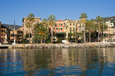 Santa Margherita Ligure, promenade — Stock Photo