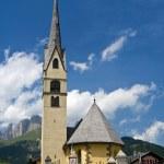 Alpine small church — Stock Photo