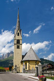Alpine small church — Stock Photo