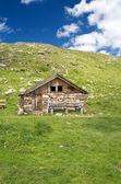 Alpine Baita — Stock Photo