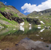 Second Lusia lake — Stock Photo