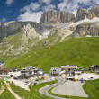 Passo Pordoi — Stock Photo