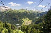 Alta val di Fassa — Stock Photo