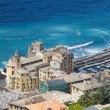 Royalty-Free Stock Photo: Camogli, aerial view