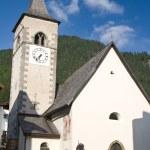 Church in Canazei — Stock Photo