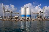 Genova harbor — Stock Photo