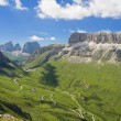 Stock Photo: Passo Pordoi