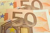 Fifty Euro — Stock Photo