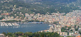 Panorama of Rapallo — Stock Photo