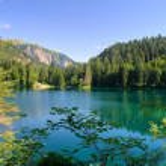 Tovel lake HDR — Stock Photo