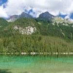 Tovel lake panorama — Stock Photo