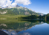 LakeTovel, panorama — Stock Photo