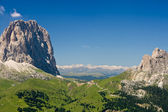 Sella pass, Italian Dolomites — Stock Photo