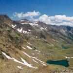 paisaje alpino en verano — Foto de Stock