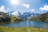 Lago Nero, Italian Alps — Stock Photo