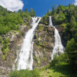 Nardis waterfalls, val di Genova — Stock Photo