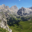 Stock Photo: Alpine landscape in summer