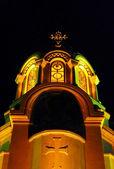 Nightly church — Stock Photo