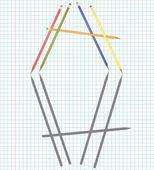 Colour pencils — Stock Vector