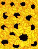 Sunflowers — Stock Vector