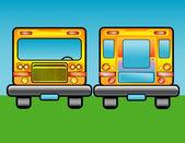 Scholastic bus — Stock Photo