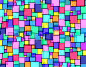 Square´s bricks wall — Stock Photo