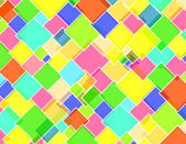 Rhombus candy´s wall — Stock Photo