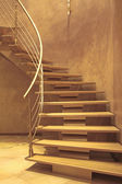 Stairway in luxury home — Stock Photo