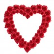 Red rose heart — Stock Photo #1528784