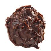 Chocolate truffle macro — Stock Photo