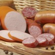 Meat and sausages — Stock Photo #1924814