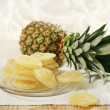 Dried pineapple — Stock Photo