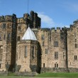 Alnwick Castle, England - Stock Photo