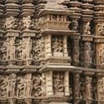 Erotic temples in Khajuraho — Stock Photo #1365392