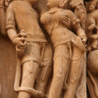 Erotic temples in Khajuraho — Stock Photo #1365640